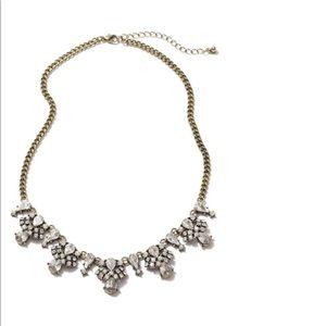 BP gold statement necklace